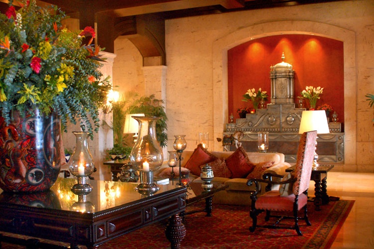 Spanish hacienda style decor home design and decor reviews for Mexican decorations for the home